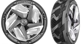 Goodyear lança pneus sustentáveis que geram energia