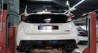 Honda Civic Type R – Novo modelo tem imagens divulgadas