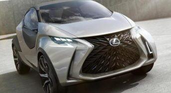 Lexus LF-SA tem imagens do conceito divulgadas