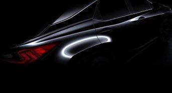 Lexus RX 2016 conta com seu teaser divulgado