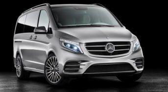 Concept V-ision e é revelado pela Mercedes