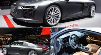 Novo Audi R8 será lançado no Brasil em 2016
