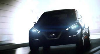 Nissan mostra conceito do March 2017 no Salão de Genebra