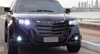 Picape Ford personalizada é feita no interior da Paraíba