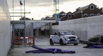 Range Rover Evoque tem versão conversível confirmada
