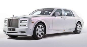 Rolls-Royce Phantom Serenity aparece em Genebra