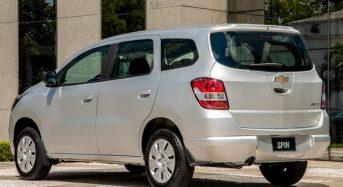 Chevrolet Spin 2016 é lançado por R$ 53 mil no Brasil