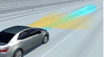 Toyota lança sistema de segurança anti-colisão