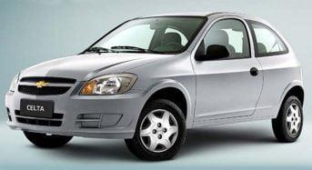 Fim do Celta – Chevrolet pode parar de Produzir o Carro