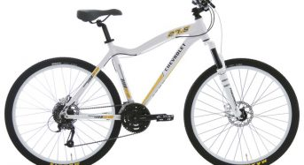 Bicicleta da Chevrolet chega ao Brasil custando R$ 3,5 mil