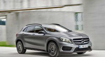 Mercedes-Benz GLA 250 chega com motor de 211 cavalos