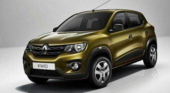 Renault Kwid – Novo Carro Substituto do Clio é Apresentado na Índia