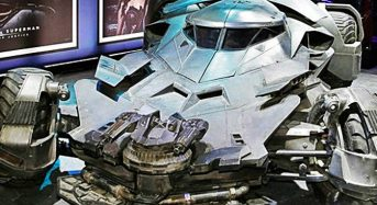 Novo Batmóvel – Carro é Apresentado durante Evento em Las Vegas