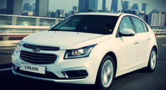 Chevrolet Cruze 2016 ganha reestilização na Coreia do Sul