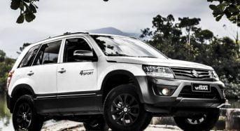 Novo Suzuki Grand Vitara 4Sport é lançado no Brasil