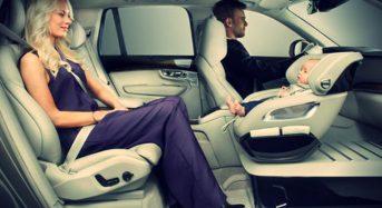 Volvo mostra Protótipo de Assento Infantil para Carros
