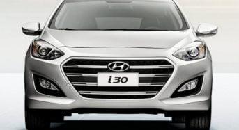 Novo Hyundai i30 2016 começa a ser Vendido no Brasil