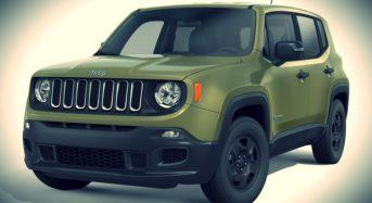 Novo Jeep Renegade ganha Versão Básica Mais Barata