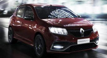 Novo Renault Sandero RS – Lançamento e Preço no Brasil