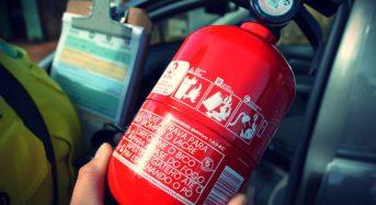 Extintor em Carro deixará de ser Obrigatório