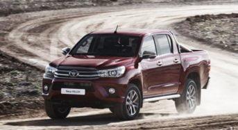 Lançamento da Nova Toyota Hilux na Europa