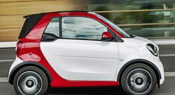 Fotos da Nova Geração do Smart ForTwo Cabriolet