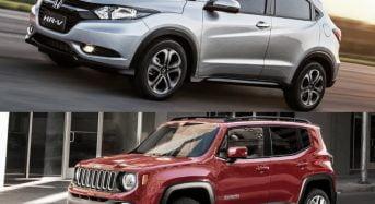 Honda HR-V x Jeep Renegade – Comparativo e Qual é Melhor?