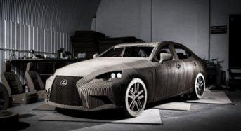 Lexus apresenta Carro feito de Papelão