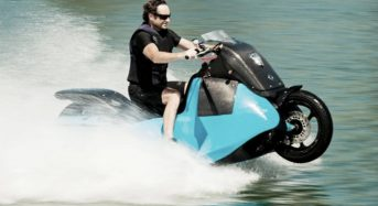 Biski – Moto Anfíbia que Roda na Terra e na Água
