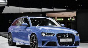 Audi RS4 Avant já passa por Testes