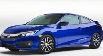 Novo Honda Civic Coupé 2016 é Apresentado