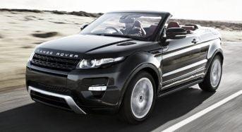 Novo Land Rover Evoque Conversível