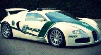 Porsche 918 Spyder é usado como Carro de Polícia em Dubai