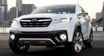 Subaru Viziv Concept antecipa visual do Novo Forester