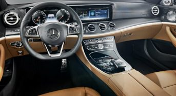 Mercedes Benz apresenta Interior do Novo Classe E 2016