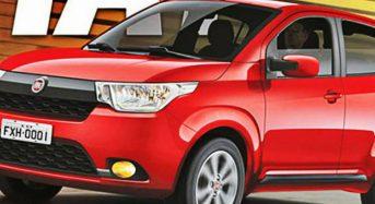 Fiat X1H – Novo Carro Popular Deve Substituir o Palio Fire