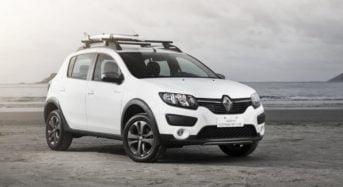 Novo Renault Sandero Rip Curl 2016 é lançado no Brasil
