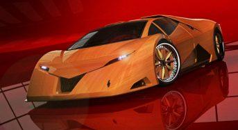Splinter – Novo Carro Esportivo feito de Madeira