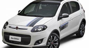 Novo Fiat Palio e Uno Sporting Blue Edition