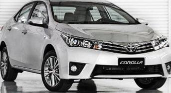 Toyota Corolla é o Carro Mais Vendido do Mundo em 2015