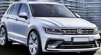 Lançamento do Volkswagen Tiguan 2016 no Salão de Frankfurt