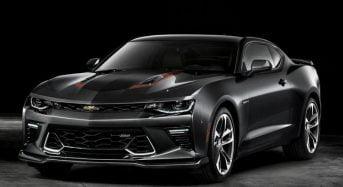 Chevrolet Camaro ganha Edição Especial de 50 Anos