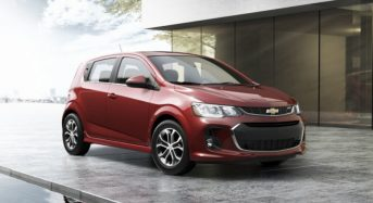 Novo Chevrolet Sonic 2017 deverá ser apresentado no Salão de Nova York 2016