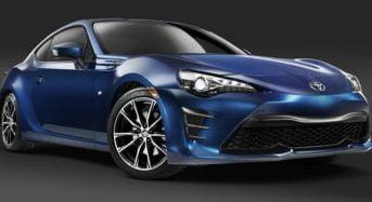 Novo Toyota GT86 Reestilizado é Apresentado