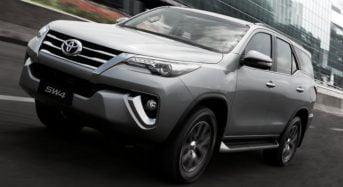 Toyota SW4 2016 – Ficha Técnica e Preço no Brasil
