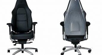 Porsche lança Cadeira igual ao Banco do 911