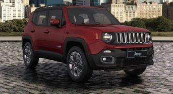 Jeep Renegade ganha Novas Cores no Brasil