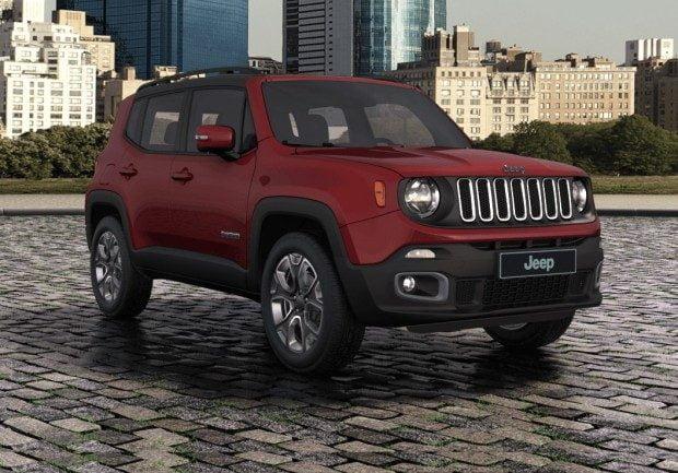 Jeep Renegade ganha Novas Cores no Brasil • Carro Bonito