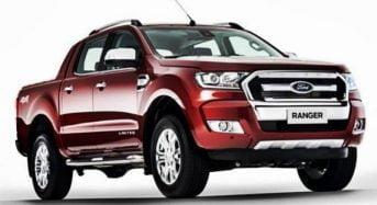 Ford Ranger 2017 ganha três estrelas em Teste de Segurança da Latin NCAP