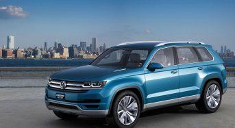 Conceito do Novo Volkswagen Touareg 2017 será apresentado no Salão de Pequim